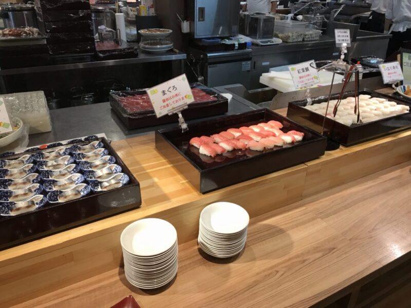 大江戸温泉伊勢志摩のディナー口コミ 寿司