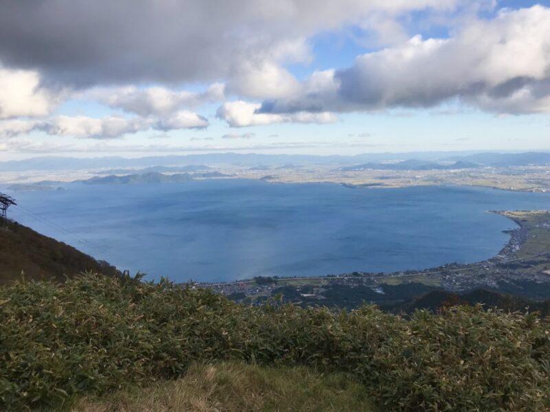 びわ湖バレイ ジップライン 琵琶湖