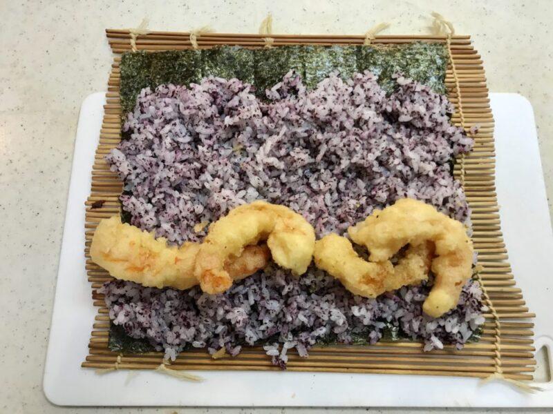 福井県敦賀市のふるさと納税ブラックタイガーの天まきレシピ2